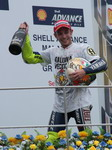 Rossi wins 9th championship in Sepang. We stood under podium...