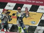 Rossi takes the opening round of the MotoGP 2010
