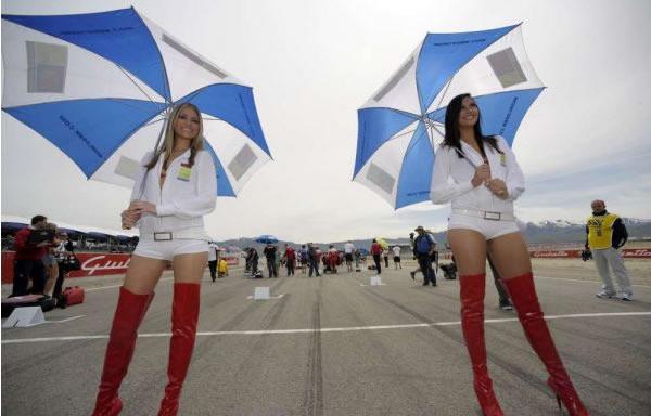 Girls at Miller Motorsports park