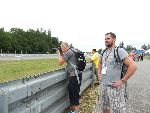 Our MotoGP Team experience customers got plenty of opportunity to view the action from the service road