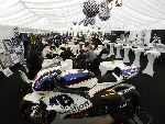 The stunning Pole Position Club hospitality