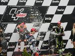 Cal Crutchlow celebrates his first podium and we all celebrate an awesome race!