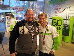 Team Experience guest meeting Gresini rider Alvaro Bautista