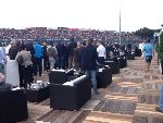 The Assen VIP Village terrace