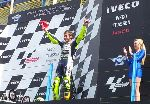 Rossi makes his comeback with his 1st place podium victory in Assen