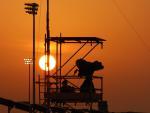 Sunset at Losail Circuit