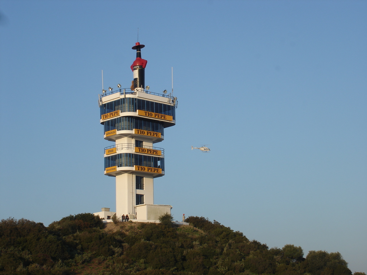 Jerez control tower