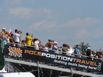 The Pole Position Travel T1 grandstand is the best view in our humble opinion!