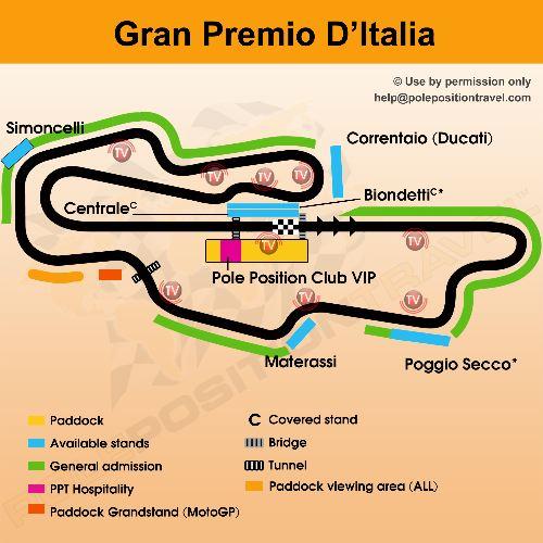 Gran Premio D'Italia 2015 : Mugello MotoGP tickets, VIP Village, hotels