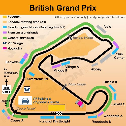 british grand prix tracks
