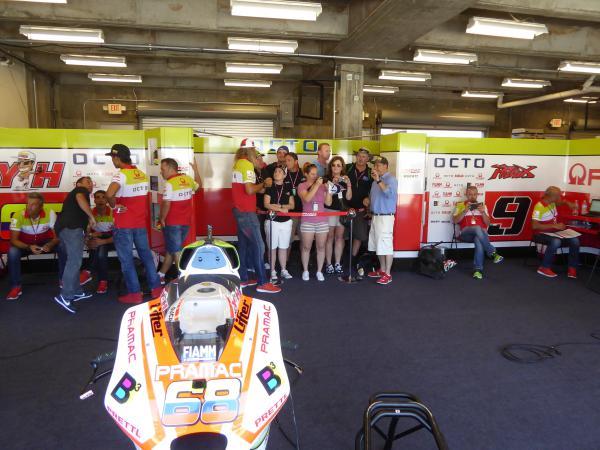 Pramac Ducati MotoGP Experience Europe