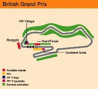 Click to enlarge. Donington circuit